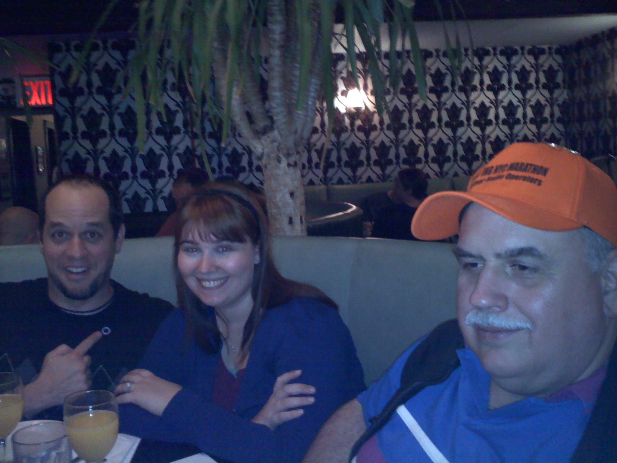 Manny, Allison, Frank